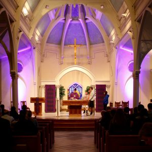 About Our Collaborative Sunday 5pm Mass – St  John – St