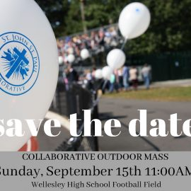 Join Us on Sunday, September 15 for Our Collaborative Outdoor Mass