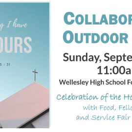 Our Collaborative Outdoor Mass – Sunday, September 15 at 11:00am
