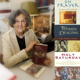 """What About Women Deacons?"" with Dr. Phyllis Zagano – September 23 at 7pm at St. John"