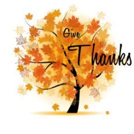Thursday, November 28: Collaborative Thanksgiving Mass at 9:00am at St. Paul Church