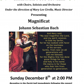 Annual Christmas Pops Concert at St. Paul Church<br>Sunday, December 8 at 2:00pm
