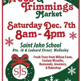Save the Date! Trees & Trimmings is Saturday, December 7