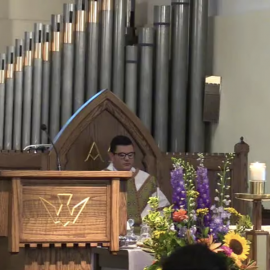Watch Fr. Matt Norwood's First Mass of Thanksgiving