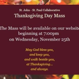 Mass for Thanksgiving Day