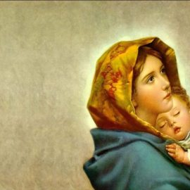 Friday, January 1 is the Solemnity of Mary Mother of God