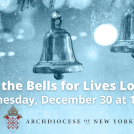 Wednesday, December 30 at Noon: Ringing of the Bells for Lives Lost to Covid