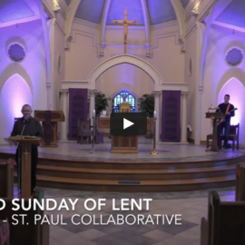 February 28, 2021: Mass for Second Sunday of Lent