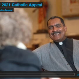 A Message from Fr. Jim About the 2021 Catholic Appeal Video
