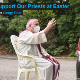 Easter Collection for the Clergy Trust