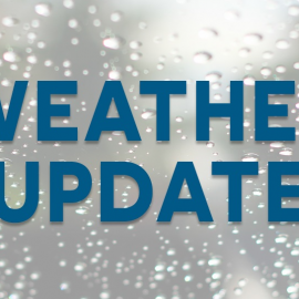 Weekend Weather Update: Masses On As Scheduled, Sunday 5pm Mass Will Be Inside